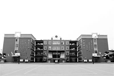 建的城区标准化小学——白鹤小学.-武安市着力推进教育均衡发展 图片