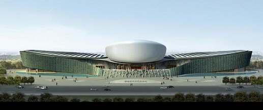 郸图书馆和邯郸市城市规划展览馆,文化艺术中心的落成使其成为邯