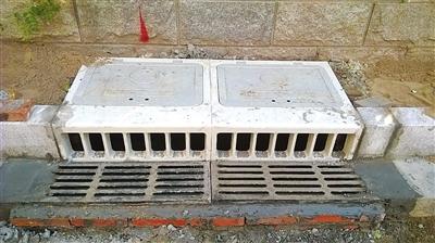 排水管理处多方走访,与相关部门联合开发研制了jfc立箅雨水口,以解决图片